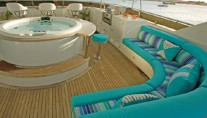 Yacht ATLANTICA -  Sundeck Seating
